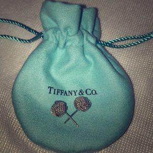 Tiffany & Co. Mesh Knot Earrings